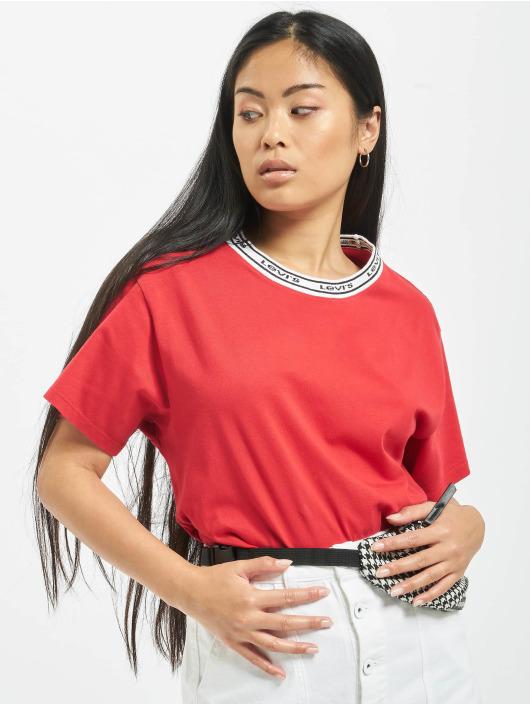 Levi's® T-Shirt Varsity rouge