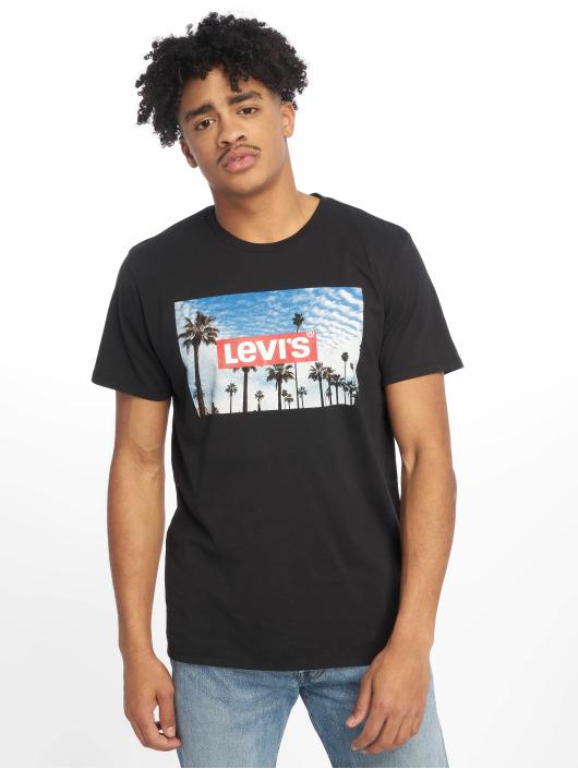 Levi's® T-Shirt Graphic Set In Neck schwarz