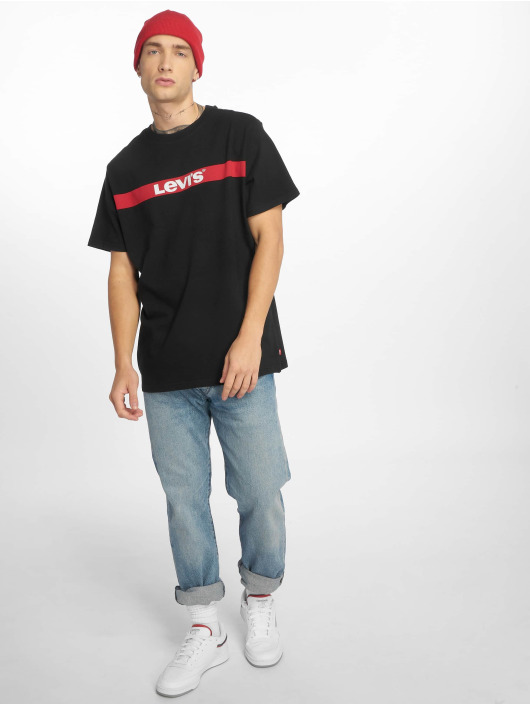 Levi's® T-Shirt Oversized Graphic schwarz