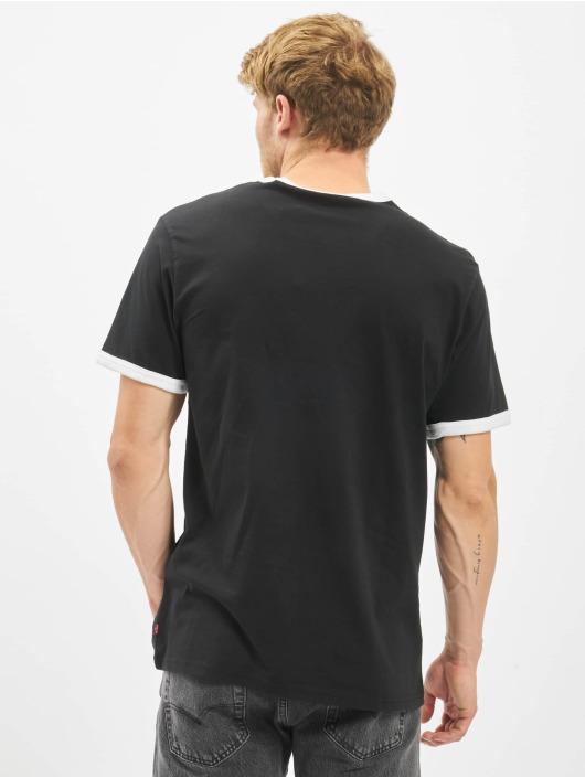 Levi's® T-Shirt Ringer schwarz