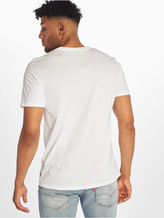Levi's® T-Shirt Graphic Set-In Neck II Boxtab weiß