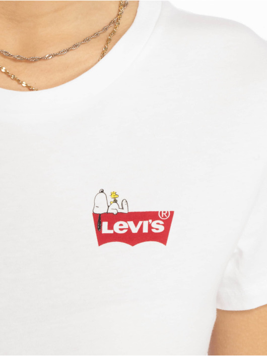 Levi's® T-Shirt The Perfect Tee Peanuts white
