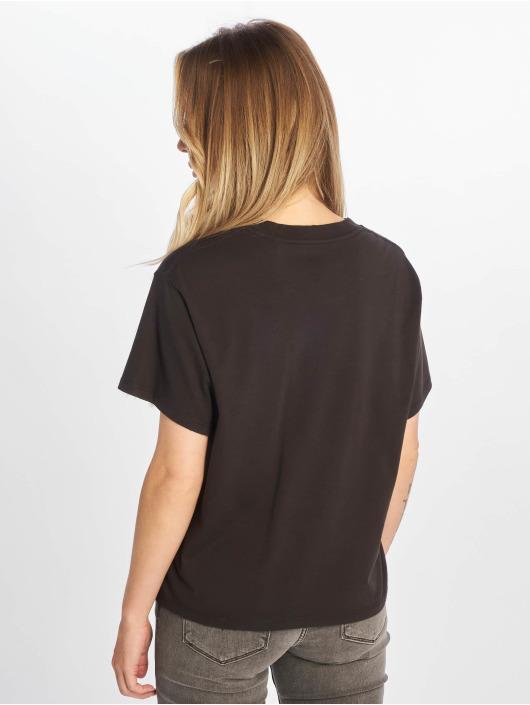 Levi's® t-shirt Graphic Varsity zwart