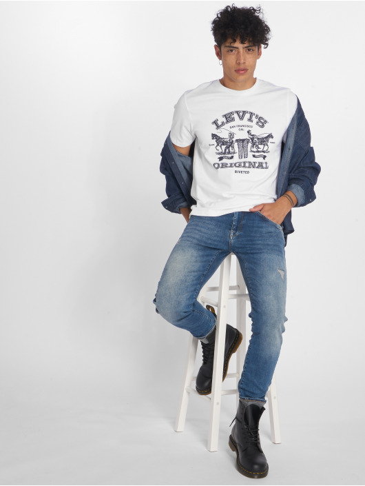 Levi's® T-Shirty 2horse Graphic 2h bialy