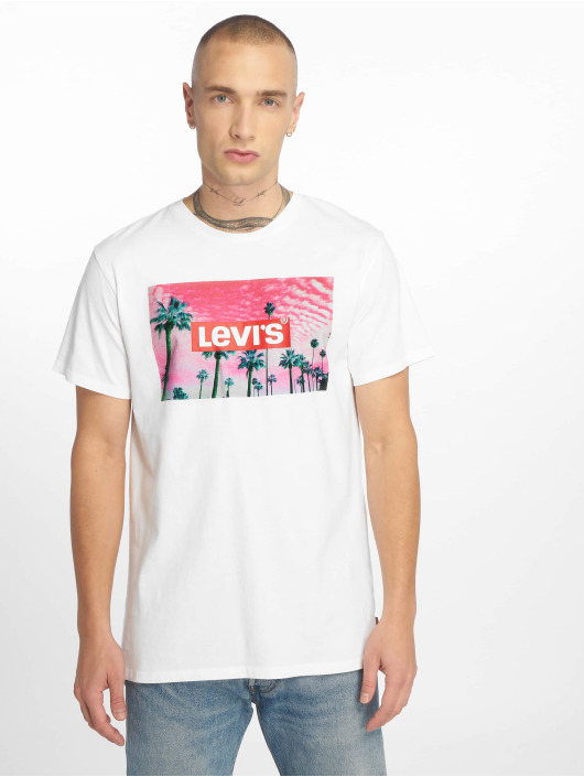 Levi's® T-Shirty Graphic Set In Neck bialy