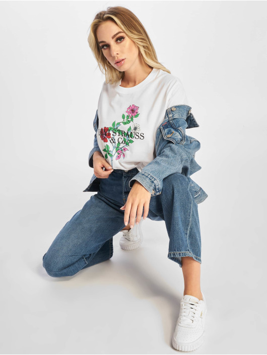 Levi's® T-Shirty Graphic Varsity bialy