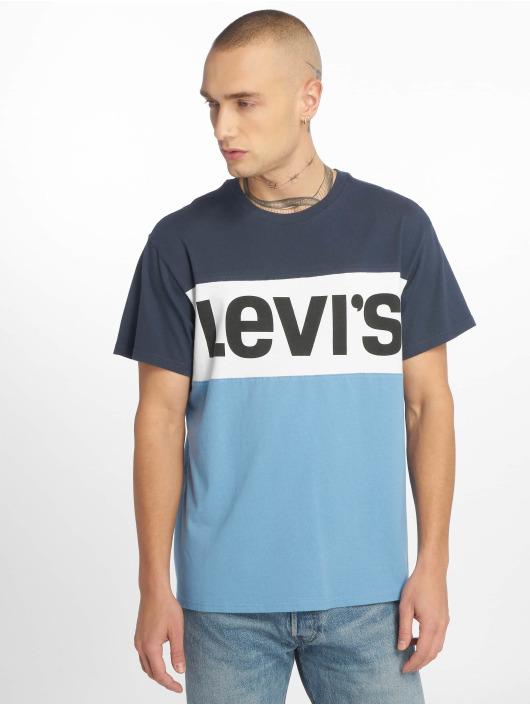 Levi's® T-Shirty Colorblock niebieski