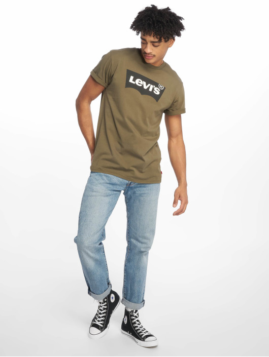 Levi's® T-Shirty Housemark Graphic zielony