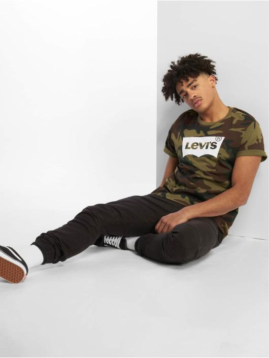 Levi's® T-Shirty Housemark Graphic Fill Camo zielony