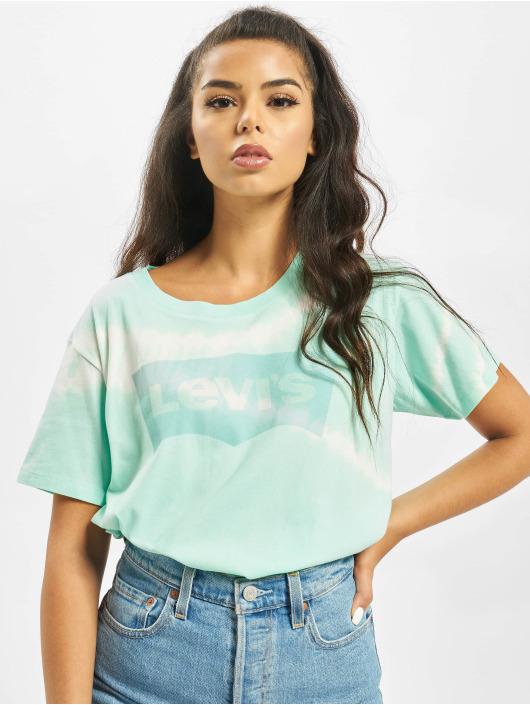 Levi's® T-skjorter Graphic Boyfriend New Logo turkis