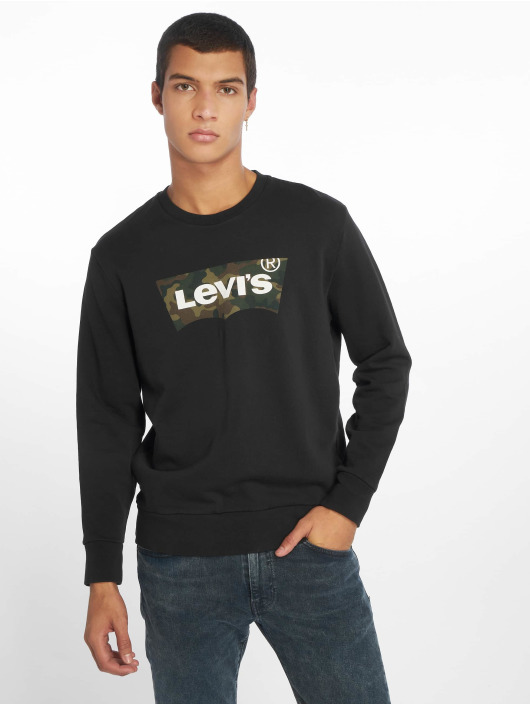 Levi's® Trøjer Graphic Crew Fill sort