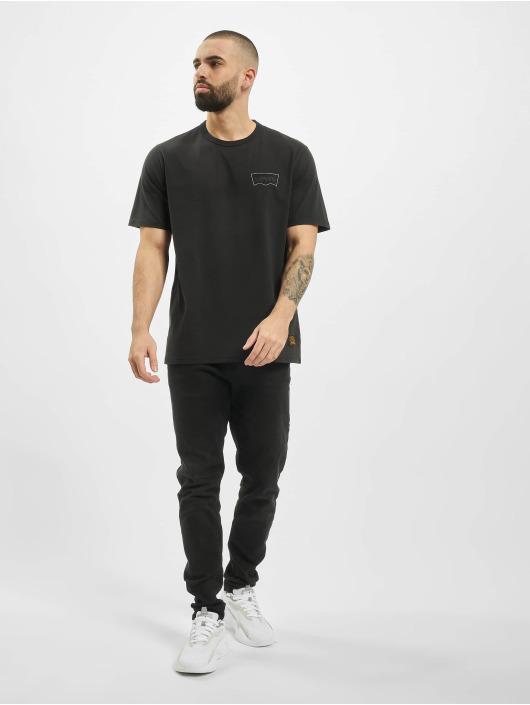 Levi's® Tričká Skate Graphic èierna