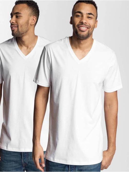Levi's® Tričká V-Neck biela
