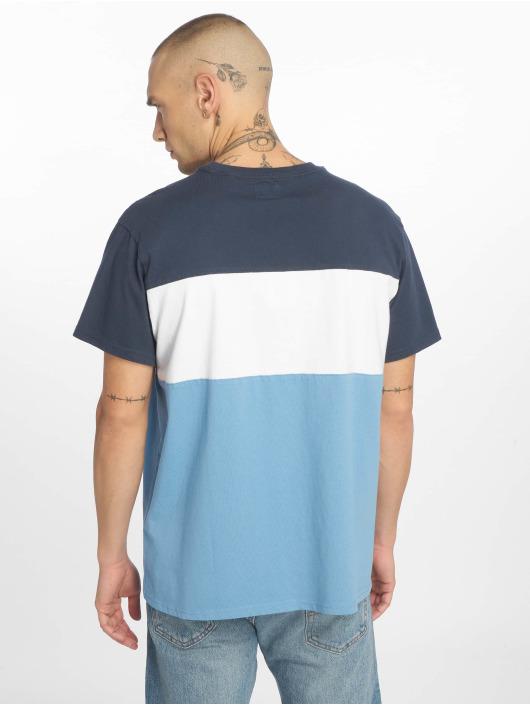 Levi's® Tričká Colorblock modrá