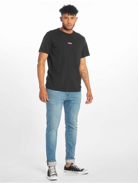 Levi's® Trika Ss Relaxed Baby Tab T čern