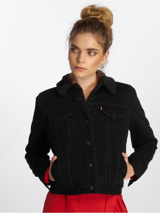 520252 Levi's® Veste Femme Denim Noir Jean kZiuPOX