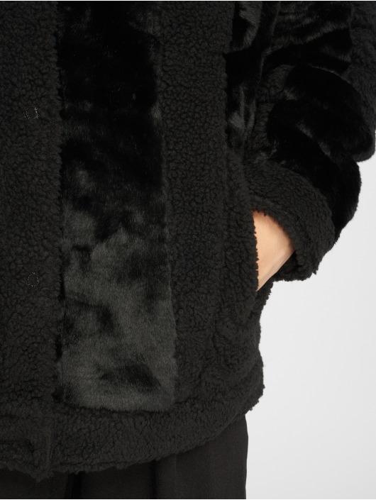 Levi's® Winterjacke Patchwork Baggy Trucker schwarz