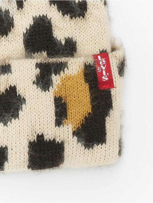 Levi's® Wintermütze Leopard braun