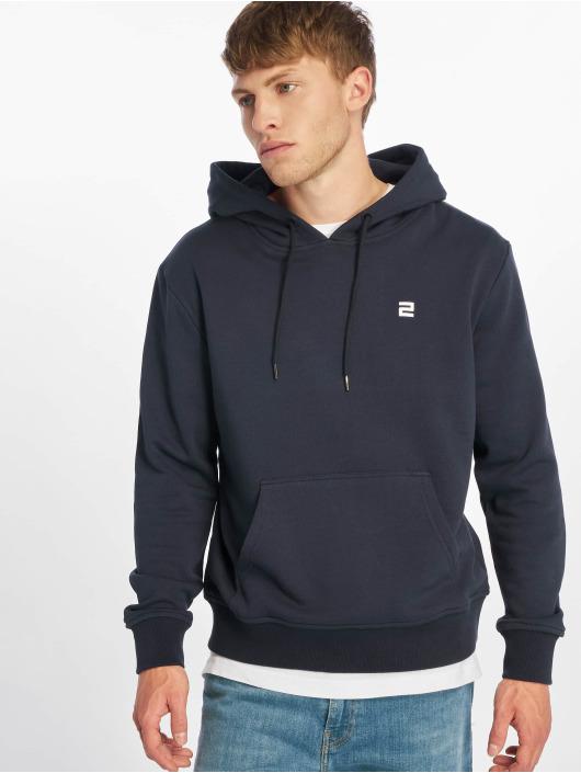 Lifted Bluzy z kapturem Aton niebieski