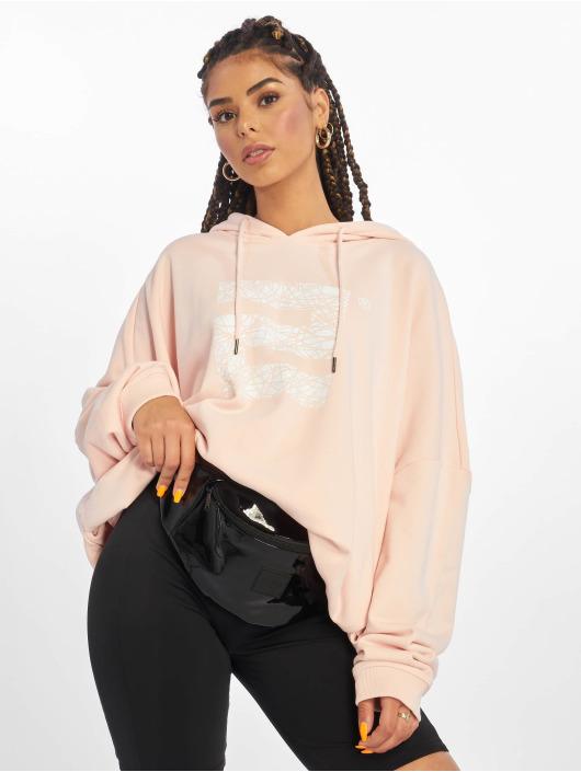 Lifted Bluzy z kapturem Nam rózowy