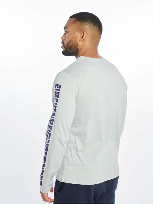 Lifted Maglietta a manica lunga Yun grigio