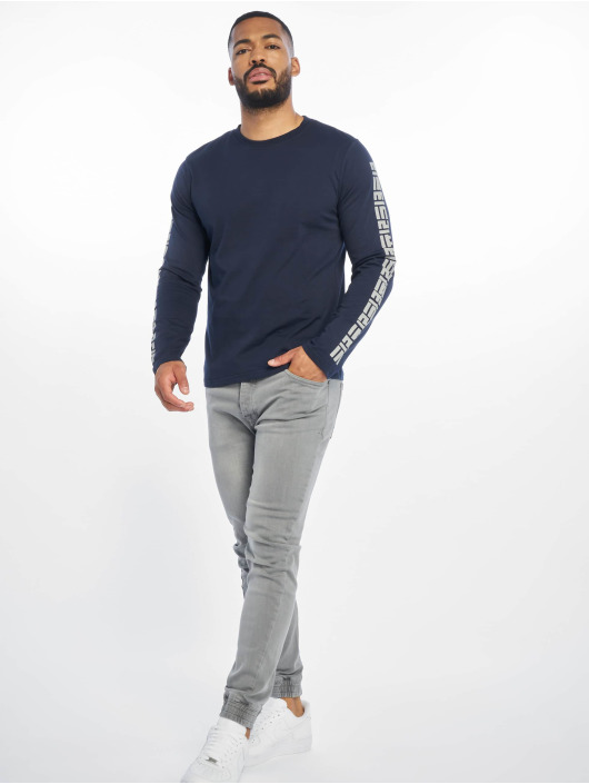 Lifted Pitkähihaiset paidat Yun sininen