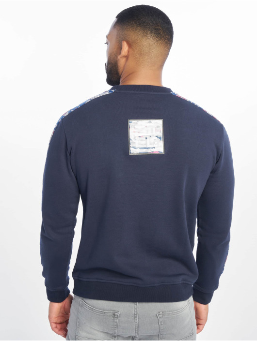 Lifted Pullover Ken blau