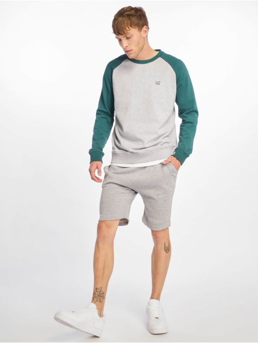 Lifted Pullover Haru grau