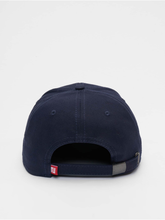 Lifted Snapback Cap Elin blau