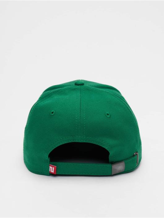Lifted Snapback Cap Elin grün