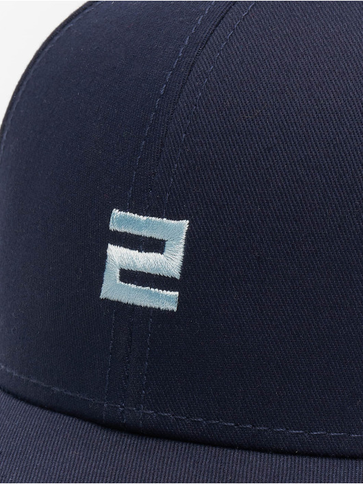 Lifted Snapback Caps Elin niebieski