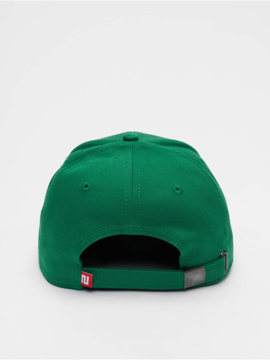 Lifted Snapback Caps Elin zelený
