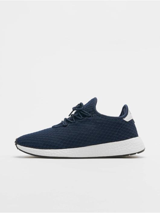 Lifted Sneaker Sage blau