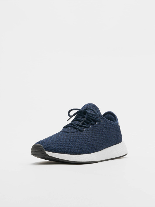 Lifted sneaker Sage blauw