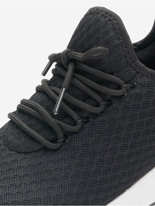 Lifted sneaker Sage zwart