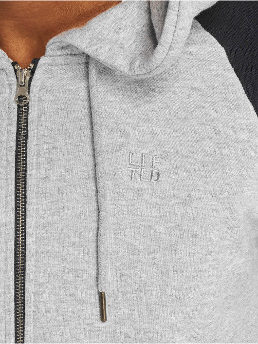 Lifted Sweat capuche Nabi gris