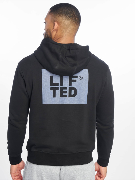Lifted Sweat capuche Aton noir