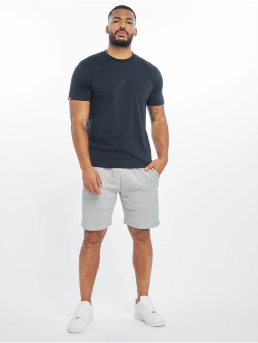 Lifted t-shirt Leach blauw