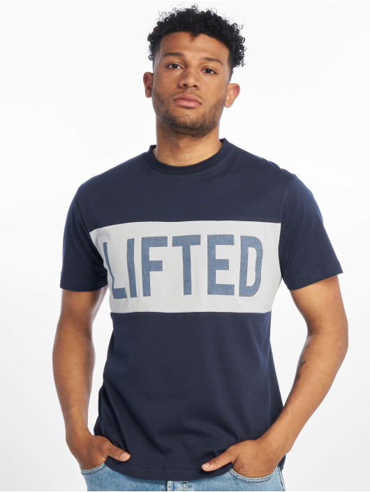 Lifted t-shirt Sota blauw