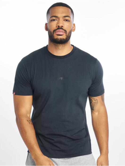 Lifted T-Shirt Leach bleu