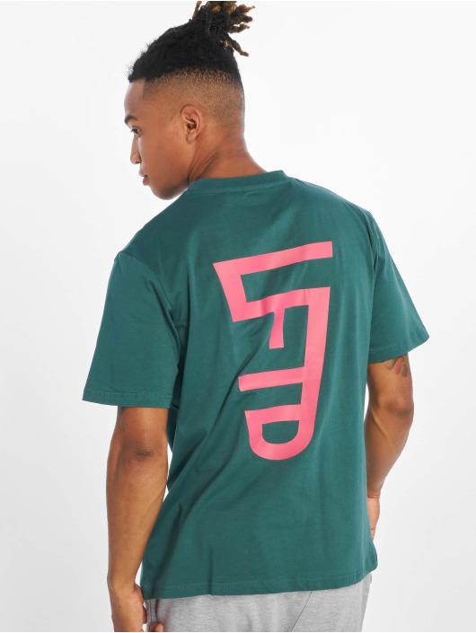 Lifted t-shirt Leach groen