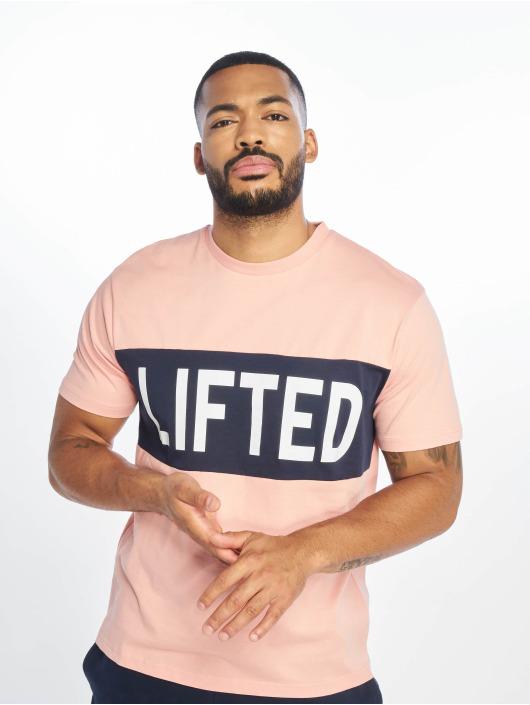 Lifted T-shirt Sota rosa