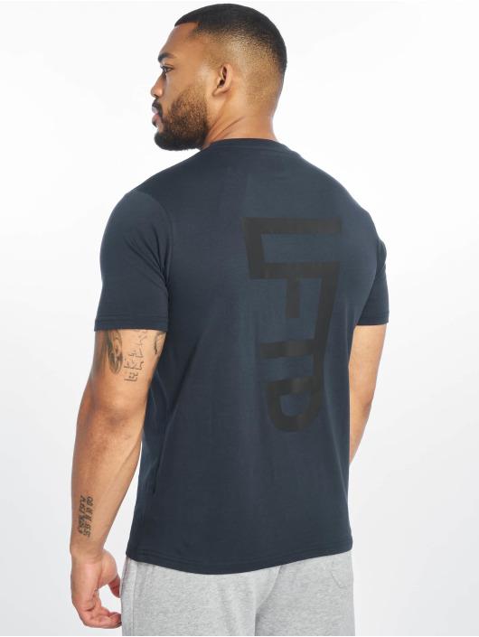 Lifted T-shirts Leach blå