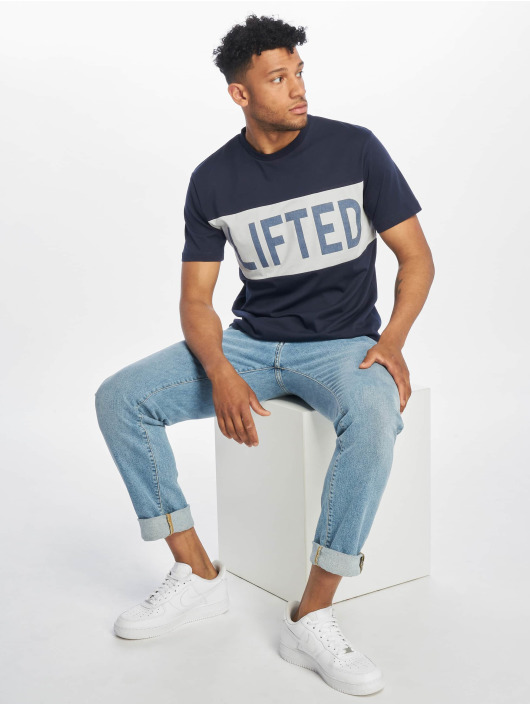 Lifted T-shirts Sota blå