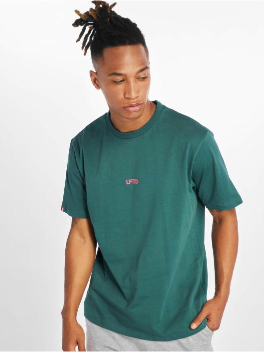 Lifted T-shirts Leach grøn