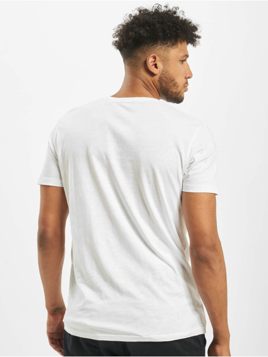 Lindbergh T-Shirt Pocket weiß