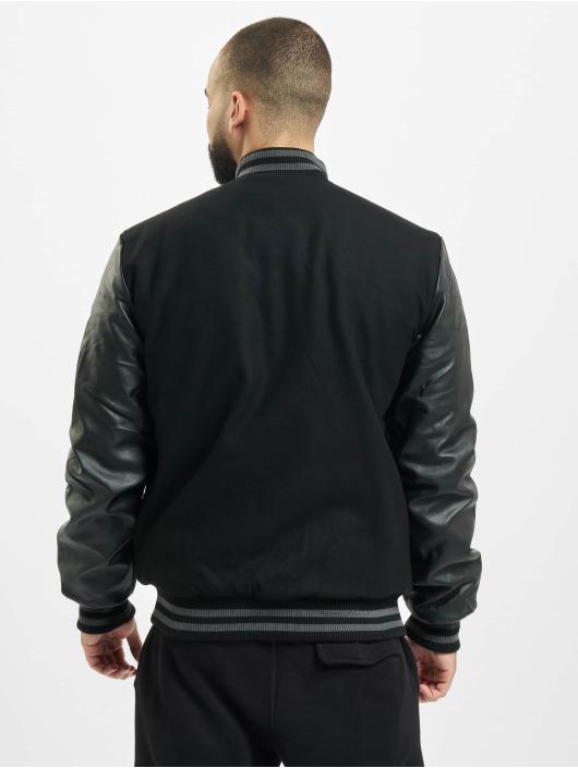 Lonsdale London Университетская куртка Milverton черный