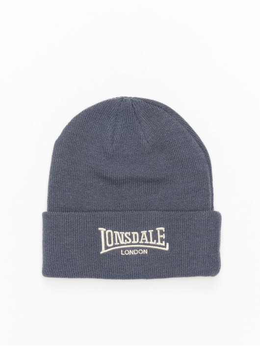 Lonsdale London Beanie Bobhat grigio