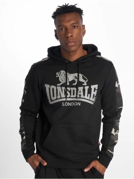 Lonsdale London Bluzy z kapturem Santley czarny