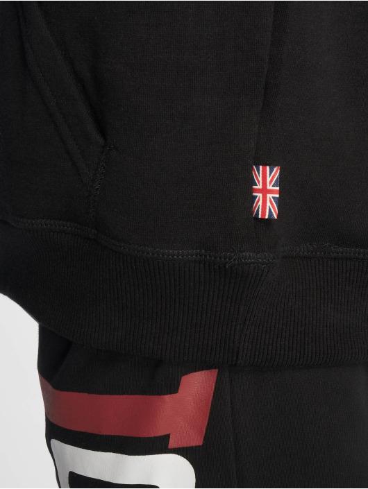 Lonsdale London Bluzy z kapturem Bassingham czarny